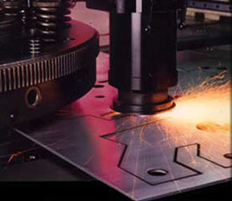 Precision Laser Cutting Sheet Metal equipment used by B&N Sheet Metal  in Wyoming, MN.